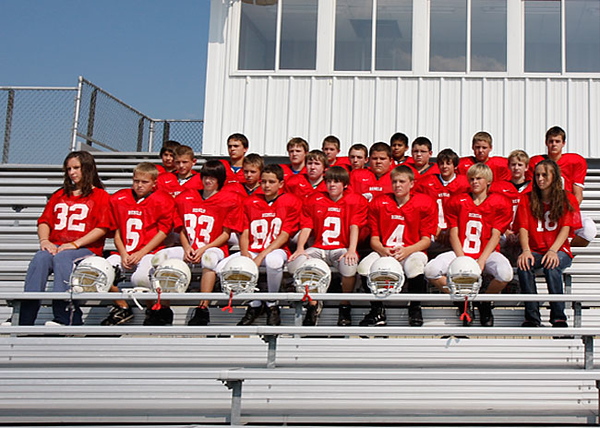 SNMS Football Team 2008