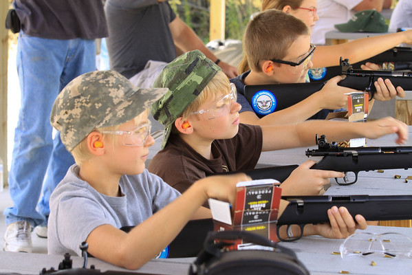 Youth Archery and Rifle Shoot
