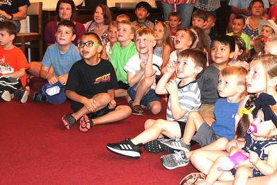 Creature Teacher visits Fannie Brown Booth Memorial Library