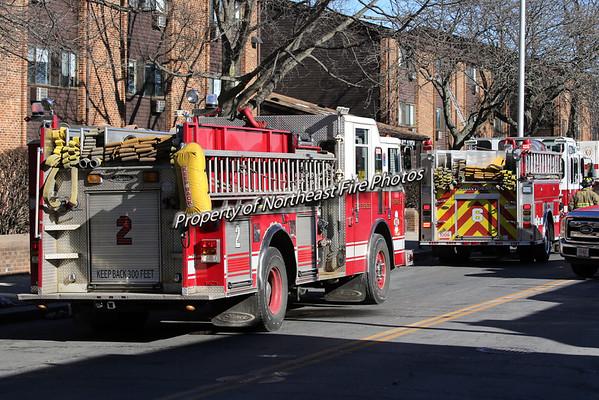 Providence- 2nd Alarm- 301 Cranston St- 1/21/16
