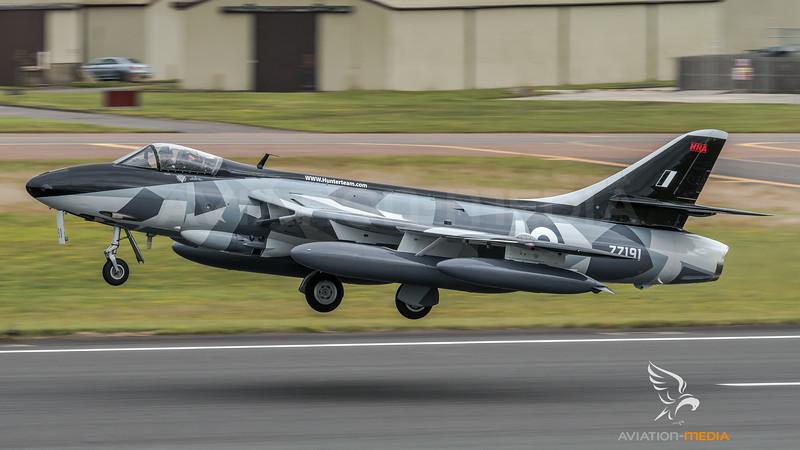 Private / Hawker Hunter F.58 / ZZ191