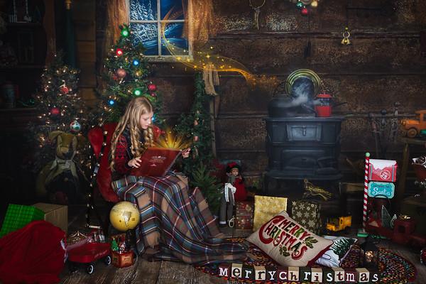 Christmas at Deer Yard Cabin