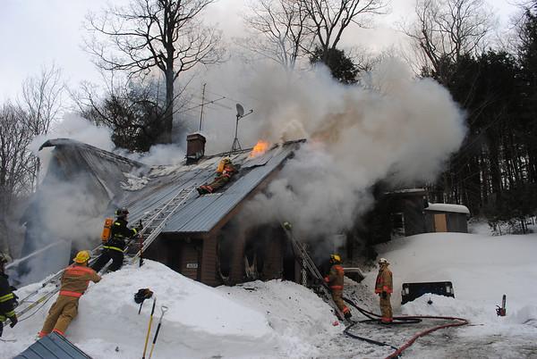 House Fire, Barnard