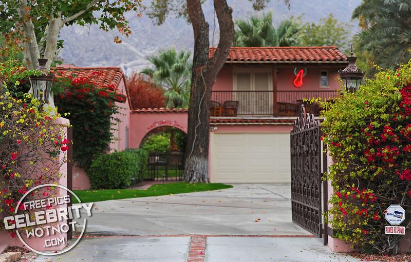 Clark Gable and Carole Lombard's Palm Springs Home, California
