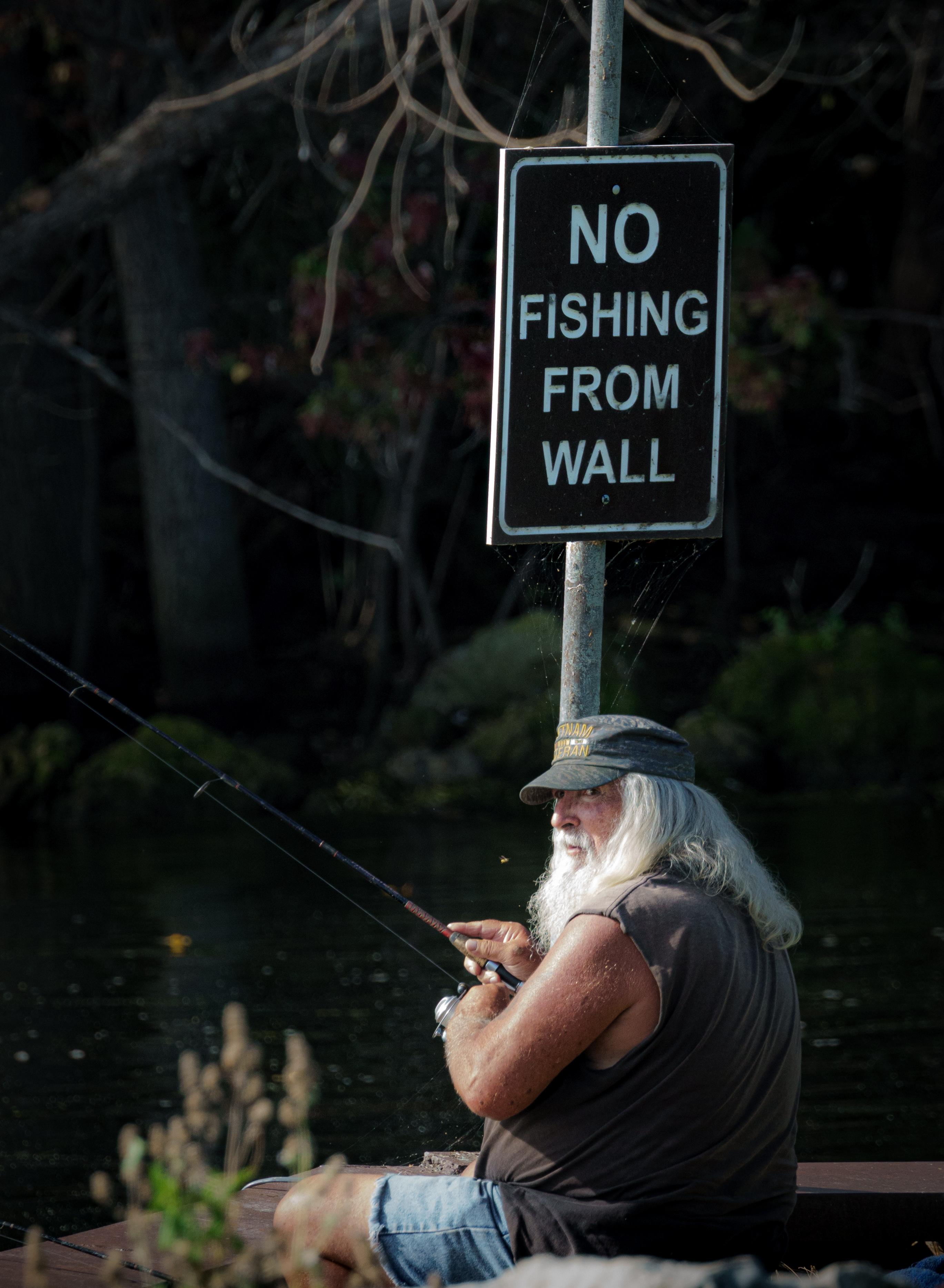 No Fishin!