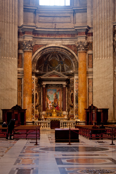 Alter on the Side of the Vatican