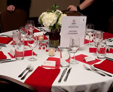 Chamber Black & White Installation Dinner 2010