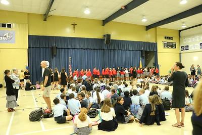 2019-05-17 Fr Beau 50th Birthday Celebration at School