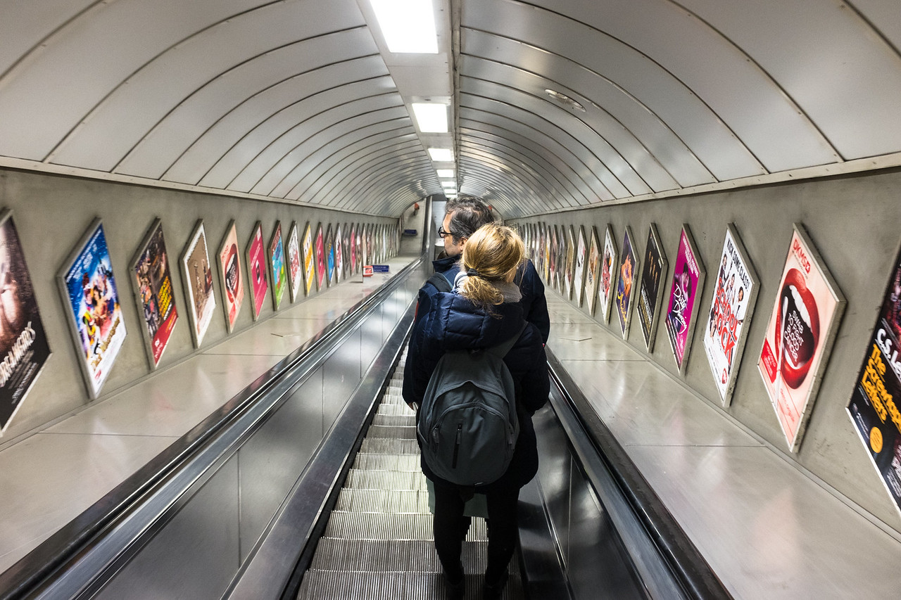 Exploring London - Descending into The Tube