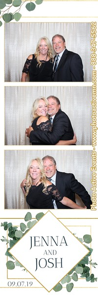 2019-09-07 Vetrans Pavilion Wedding Photo Booth in Austin MN