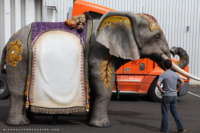 Cirque du Soleil Xbox Kinect elephant 2.JPG