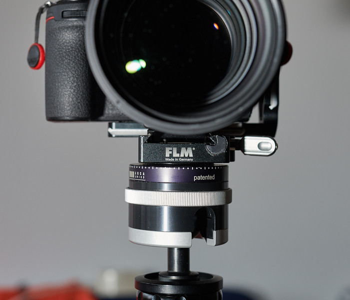 FTZ adapter in QR clamp, front sight