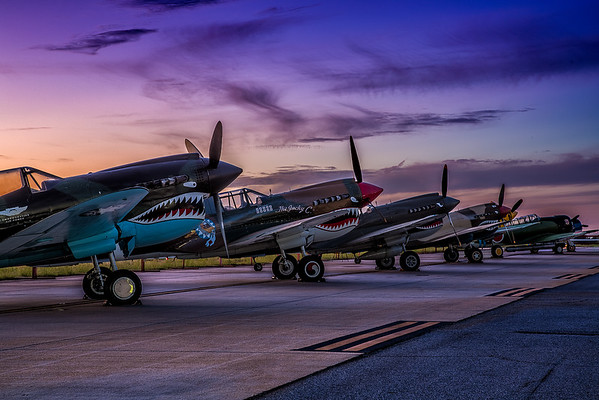 September 25, 2016 Sunrise Warbirds Shoot