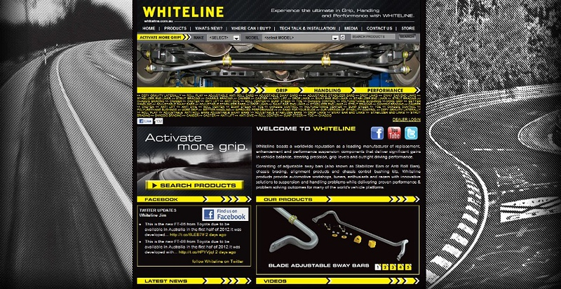 Whiteline Launches New Redesigned Website