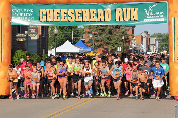 RACE/FINISHERS - Cheesehead Run 2015