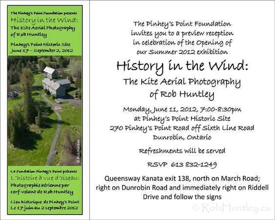 History in the Wind: The Kite Aerial Photography of Rob Huntley