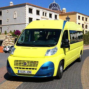 90116 Private transport by mini bus 16 seater