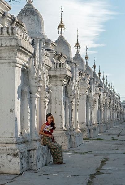 Portrait of Burmese Woman