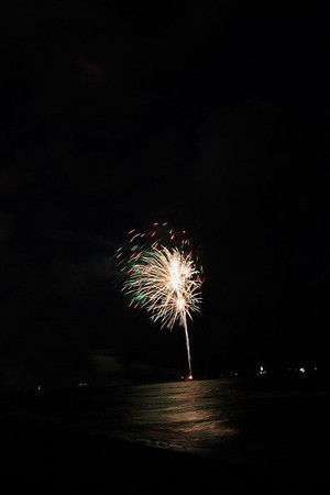 Fireworks at the Beach