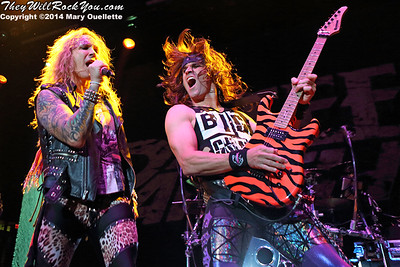 Steel Panther <br> October 14, 2014 <br> Tsongas Center - Lowell, MA <br> Photos by: Mary Ouellette