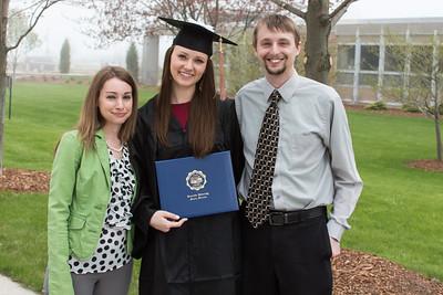 5.16.15 Katie's CUW Graduation