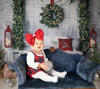 Katie's 1st  Christmas