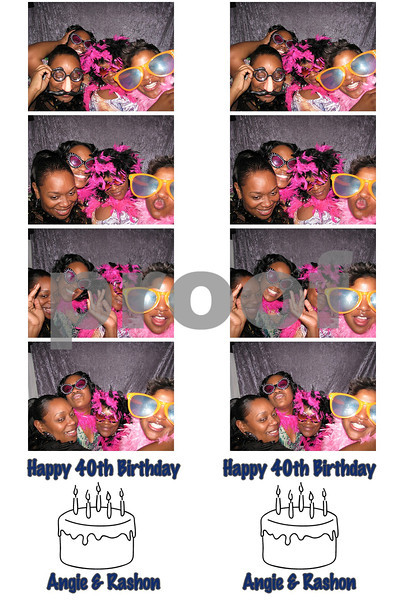 Angie & Rashon's 40th Birthday