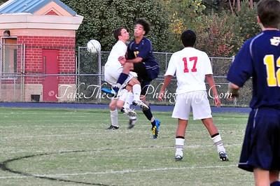 2010-09-21 BHS Soccer VS East Meck