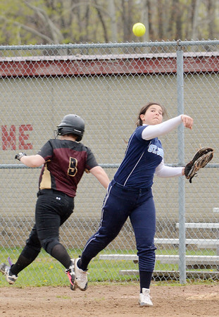 St. John's at Pymatuning Valley softball 4-29-19