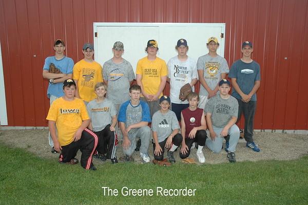 Baseball MS Team Pics
