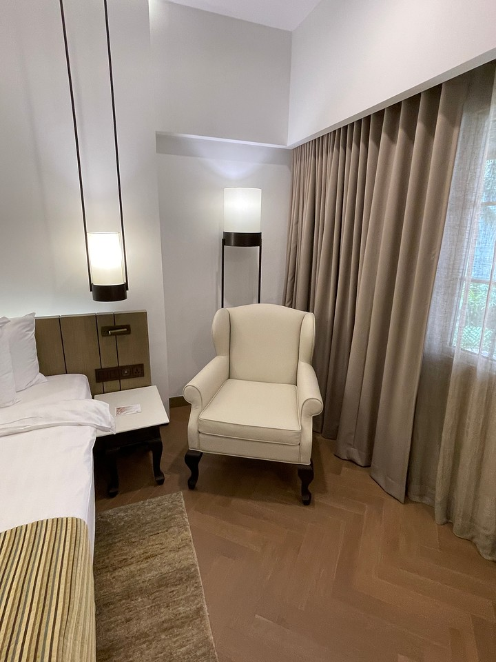 A sitter at Deluxe Premium Room