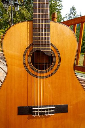 Guitar #4 Western Red Cedar and Ebony