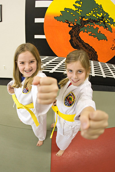 Elena and Kate - Yellow Belt Test