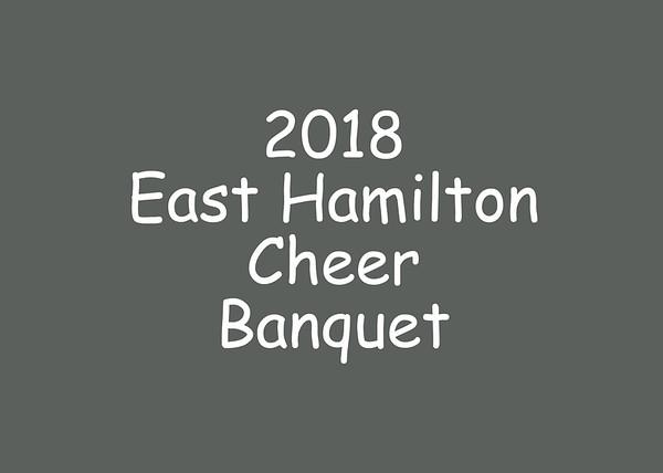 2018 EHS Cheer Banquet