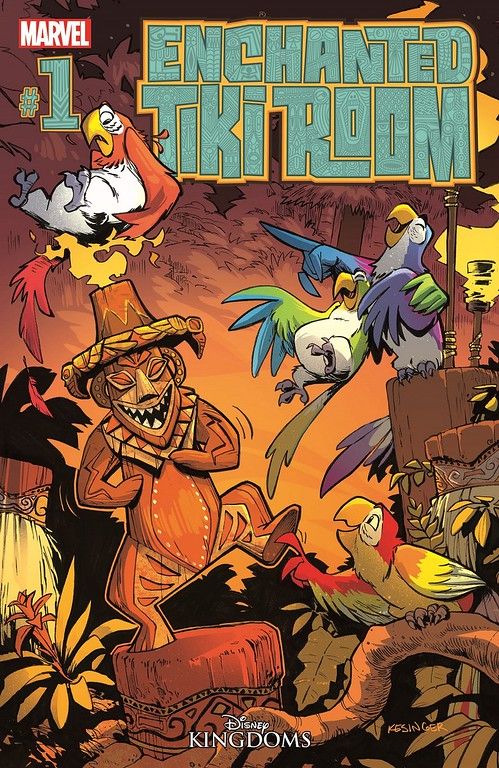 ENCHANTED TIKI ROOM #1 comes to the pages of Marvel