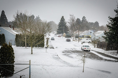 2014 - Snow in Portland