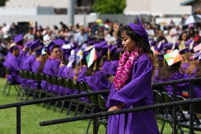 Ukiah High School 2018 Graduation