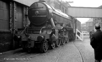 4472 Flying Scotsman on display Hunslet's Leeds