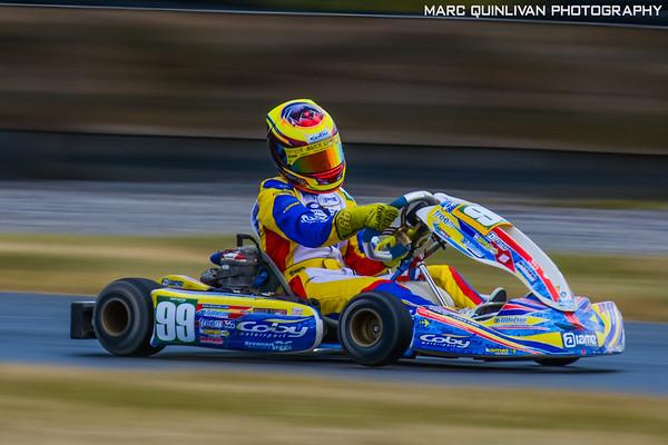 Motorsport Ireland Karting Championship 2018 - Round 5 - Mondello
