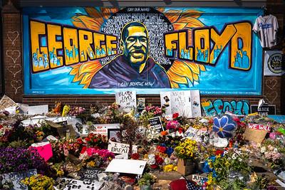 Tribute to George Floyd 2020