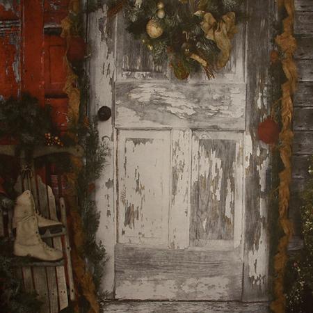 Old Winter Door
