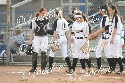 Softball Action  4/2/18