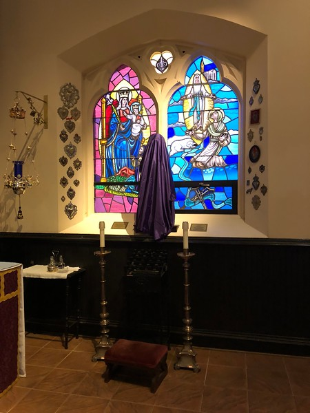 Our Lady of Joy, Passiontide