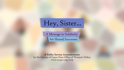 Hey Sister | Office of Women's Policy