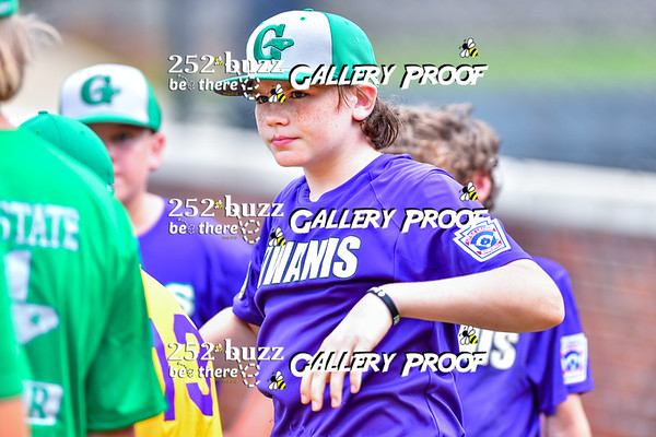 Tar Heel vs North State 10-12 year old baseball All Stars, August 16, 2020