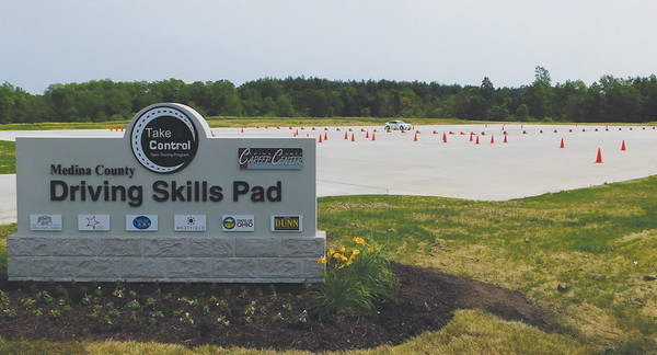 Driving skills pad opened at career center