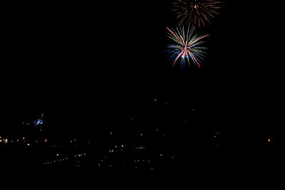 St Helena Ca and Calistoga Ca Fireworks 2012