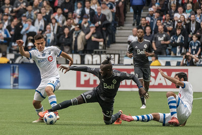 2018 Vancouver Whitecaps vs Montreal Impact MLS Opening Game