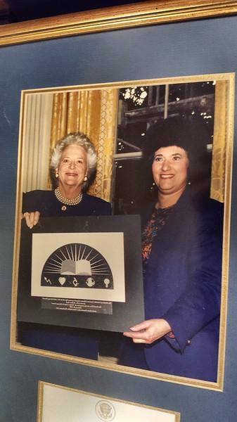 My Mom's Lifetime Awards  & Family - Lorraine Whipple