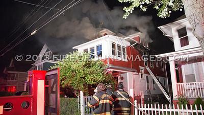 Wilmot Ave. Fire (Bridgeport, CT) 7/21/13